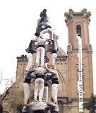 castellers de Sant Andreu - online jigsaw puzzle - 42 pieces