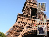Paris collage - online jigsaw puzzle - 35 pieces