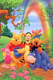 winnie_the_pooh - online jigsaw puzzle - 18 pieces
