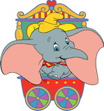 Dumbo1 - online jigsaw puzzle - 9 pieces