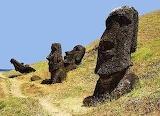 Rapa Nui - Isla de Pascua  - online jigsaw puzzle - 12 pieces